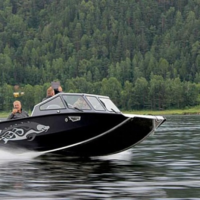 Aluminum water jet boat (motor boat, water jet boat) Rosomaha with water jet engine(motor) Mercury