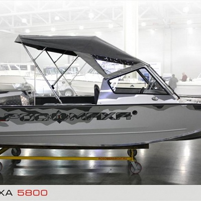 Aluminum water jet boat Rosomaha (design, finishing)