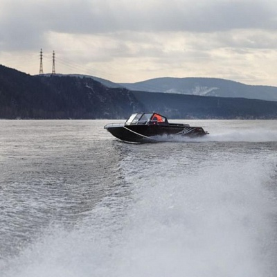 Aluminum water jet boat (motor boat, water jet boat) Rosomaha with water jet engine(motor)